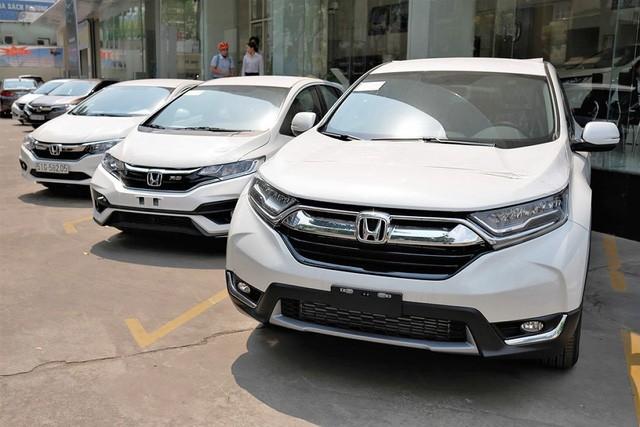 Các mẫu xe Honda đều được giảm giá tại đại lý.