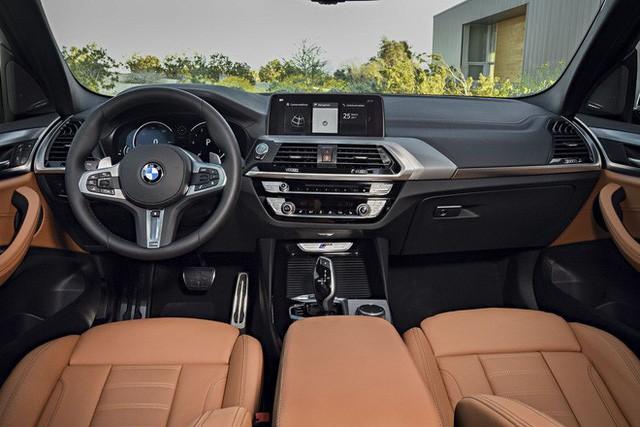 BMW X3 bản cao cấp nhất được trang bị gói thể thao và nhiều trang bị hiện đại. Ảnh minh hoạ.