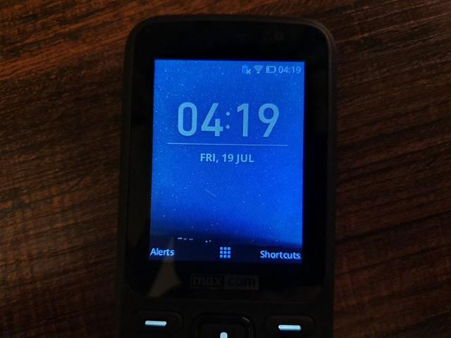 Giao diện KaiOS hiện tại trên các thiết bị feature phone