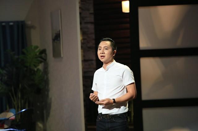 Nguyễn Văn Dũng, CEO Luxstay. Ảnh: Shark Tank Việt Nam.