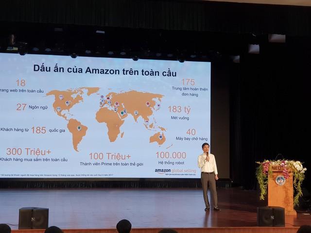 Ông Trần Xuân Thuỷ, CEO Amazon Global Selling Việt Nam
