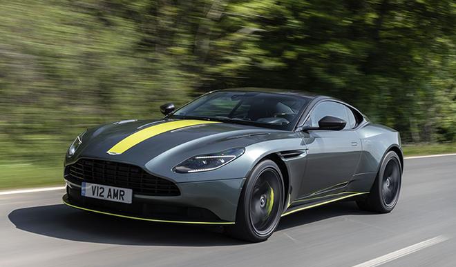 Aston Martin DB11, phiên bản AMR. (Ảnh: Turbo)