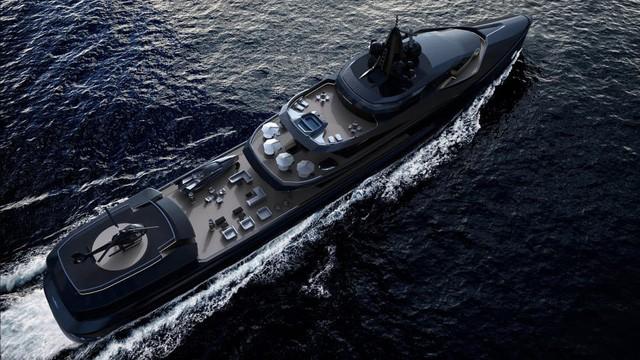 Chiếc tàu Esquel có thể đi tới tận Nam Cực. Ngoài ra, trên tàu còn có nhiều tiện nghi như xe trượt tuyết, mô tô nước, trực thăng và cả tàu ngầm.