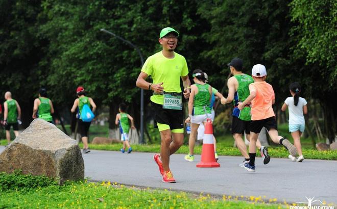 Giám đốc GO Sports Việt Nam chạy trung bình 100-120km mỗi tuần