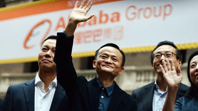 Jack Ma tại sự kiện IPO của Alibaba ở New York ngày 19/9/2014 - Ảnh: Getty Images.