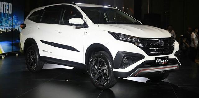 Toyota Rush được nhập khẩu về Việt Nam từ năm 2018. Ảnh BD.