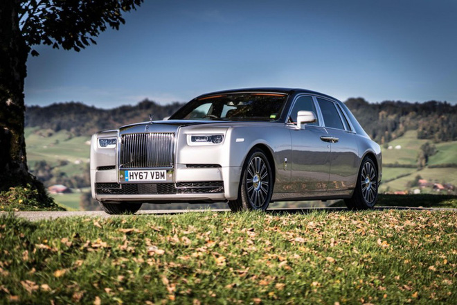 Rolls-Royce Phantom thế hệ thứ 8. (Ảnh: Roadshow)