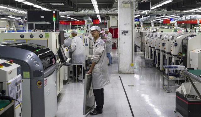 Những dây chuyền sản xuất từ 140 người chỉ còn ít hơn 30 người trong mùa cao điểm.