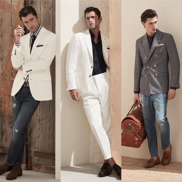Một số sản phẩm thời trang cao cấp của Brunello Cucinelli (Ảnh: @brunellocucinelli)