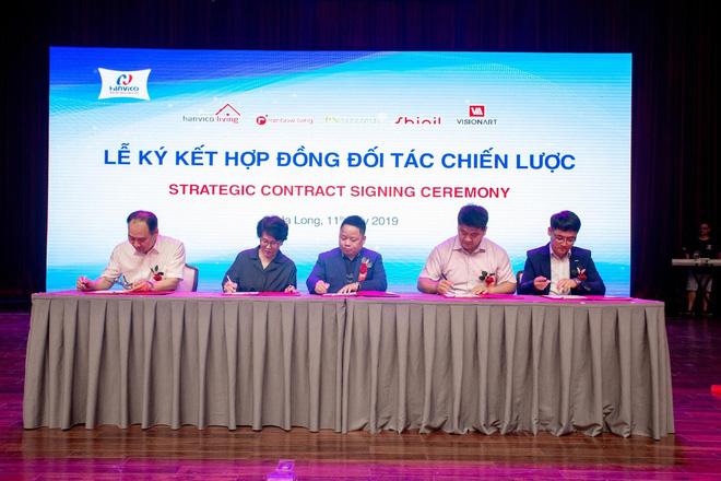 Lễ ký kết của Hanvico với các đối tác chiến lược