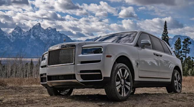 Rolls-Royce Cullinan. (Ảnh: The Diver)