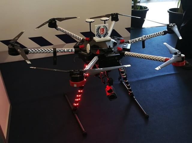 Drone giúp cảnh sát truy bắt tội phạm dễ dàng hơn.