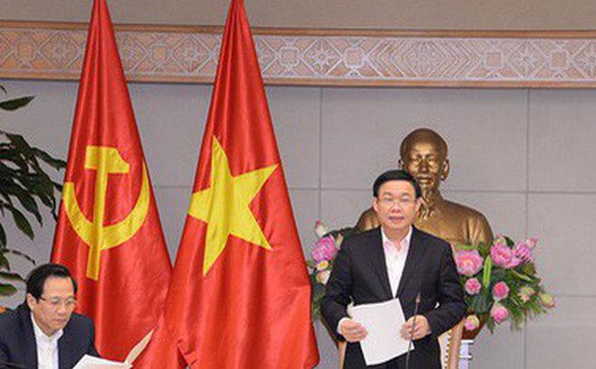 """Phó Thủ tướng Vương Đình Huệ yêu cầu ngành ngân hàng chiếm lĩnh thị trường tín dụng, triển khai các biện pháp đẩy lùi """"tín dụng đen"""" ở nông thôn"""