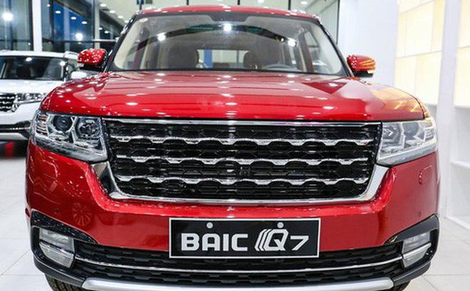 BAIC Q7 vừa xuất hiện tại Việt Nam với giá 658 triệu đồng (bao gồm phí trước bạ).