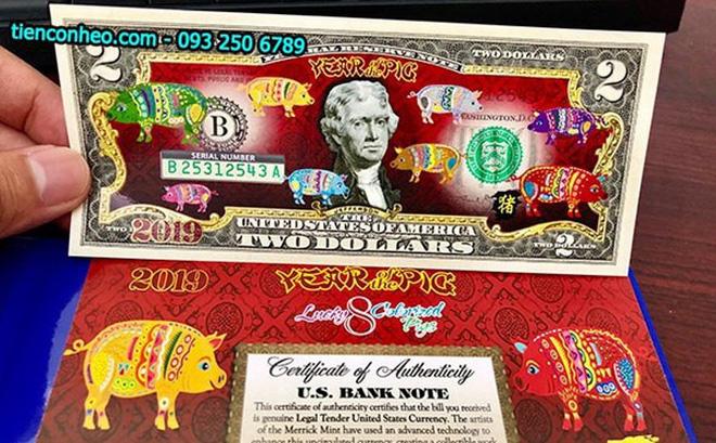 Những đồng đô la có in hình con heo