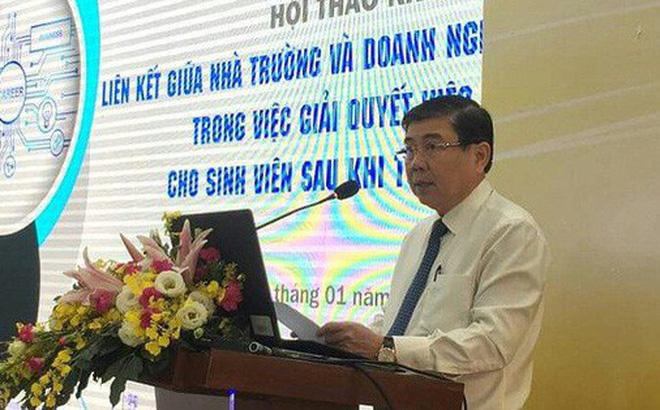Chủ tịch UBND TP.HCM Nguyễn Thành Phong phát biểu tại hội thảo