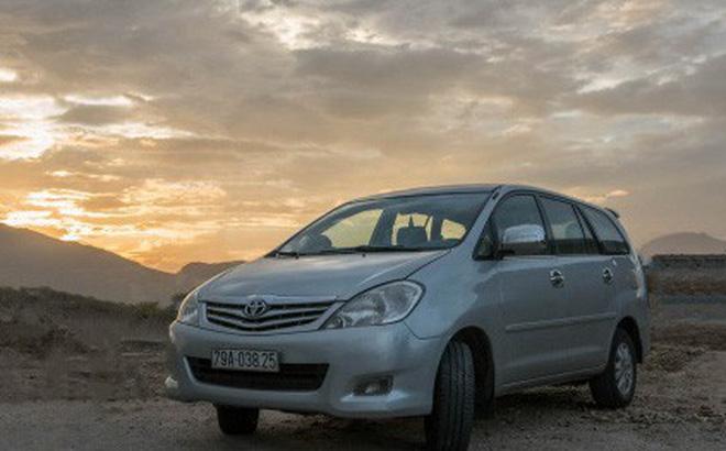 """Toyota Innova là """"ông vua"""" xe cũ trên thị trường."""