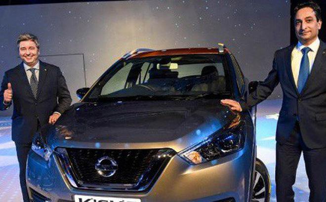 Nissan Kicks có giá từ 311 triệu đồng tại Ấn Độ.