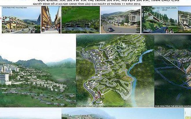 """Theo kế hoạch UBND tỉnh Lào Cai sẽ thực hiện chỉ định nhà đầu tư """"siêu"""" dự án Khu đô thị mới Đông Bắc Sa Pa trong quý I/2019 (Ảnh: sapa.laocai.gov.vn)."""