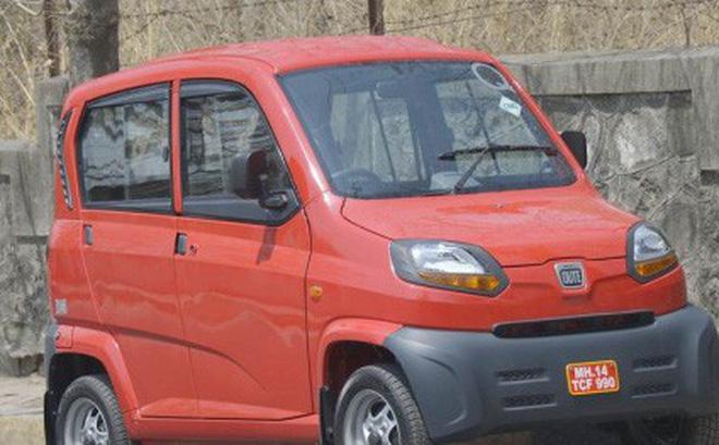 Chiếc Qute 4 bánh cho thị trường Ấn Độ.