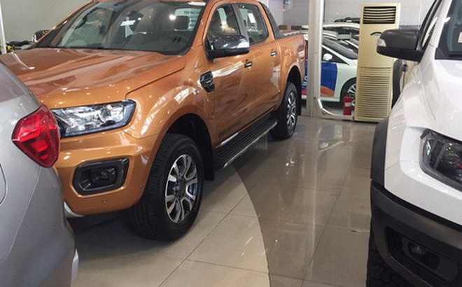 Nhiều đại lý Ford không còn xe bán tải để bán cho khách