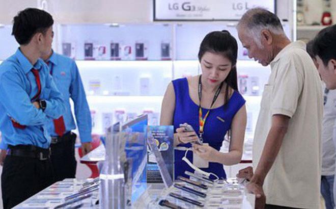 Thị trường điện thoại thông minh sôi động ở mọi phân khúc.Ảnh: Hoàng Triều