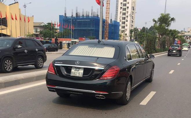 Mercedes-Maybach S600 Pullman của Chủ tịch tập đoàn FLC về Việt Nam hồi đầu năm nay.