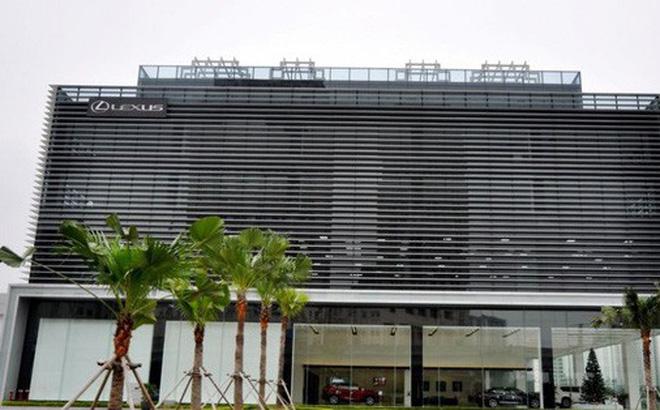 Khu đất được Liên minh Hợp tác xã Việt Nam cho Công ty cổ phần Lexus Thăng Long thuê làm nơi trưng bày sản phẩm xe Lexus.