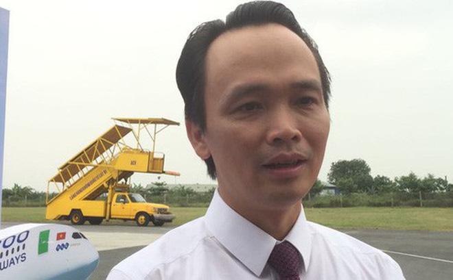 Ông Trịnh Văn Quyết, Chủ tịch kiêm Tổng Giám đốc của hãng hàng không Bamboo Airways