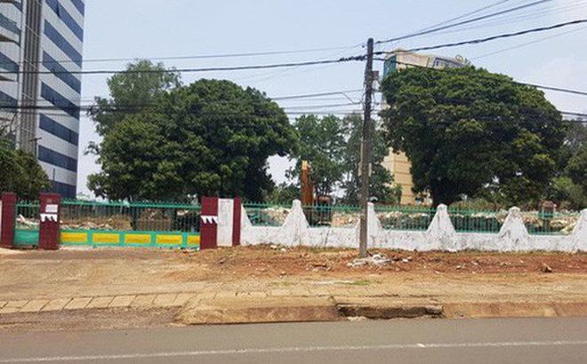 Và khu đất sau khi bị cưỡng chế... dù Văn phòng Chính phủ chỉ đạo ngưng thực hiện cưỡng chế. Ảnh Nam Phong