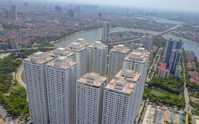 Khu đô thị Linh Đàm bị phá vỡ vì nhà cao tầng....
