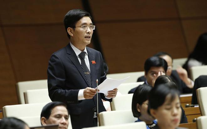 Đại biểu Hoàng Quang Hàm, Ủy viên thường trực Uỷ ban Tài chính - Ngân sách của Quốc hội. Ảnh: Quochoi.vn.