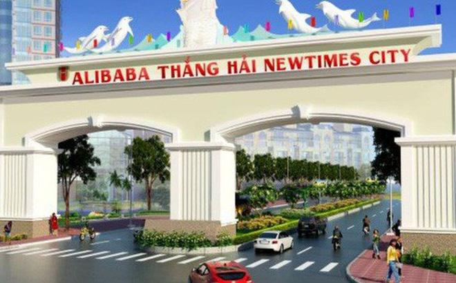 Dự án Alibaba Thắng Hải Newtimes City được quảng bá rầm rộ