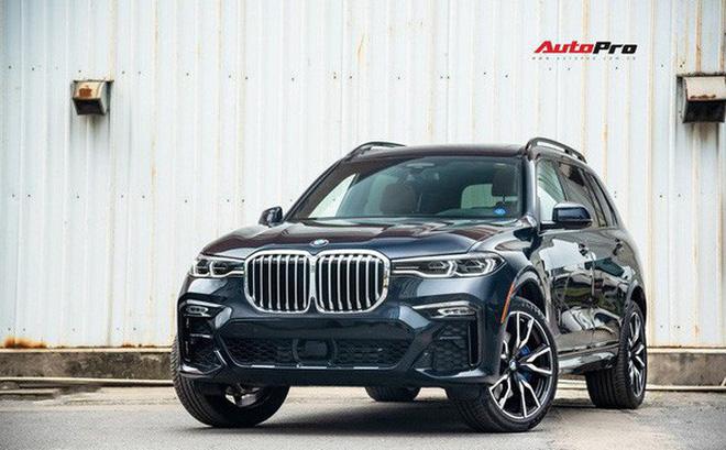 X7 là chiếc SUV full-size đầu tiên của BMW Việt Nam. Ảnh: Phúc Thành.