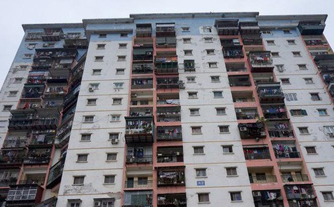Tình trạng chung cư xuống cấp khiến các căn hộ mất giá