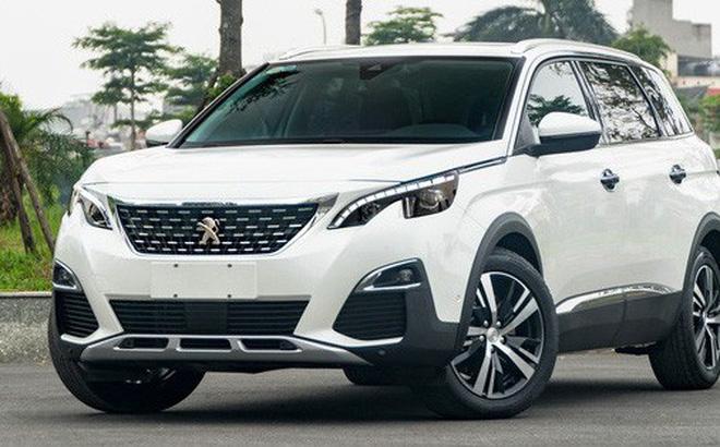 Peugeot 3008 và 5008 dính tới lùm xùm liên quan tới ắc quy thời gian gần đây. Ảnh: Phúc Thành.