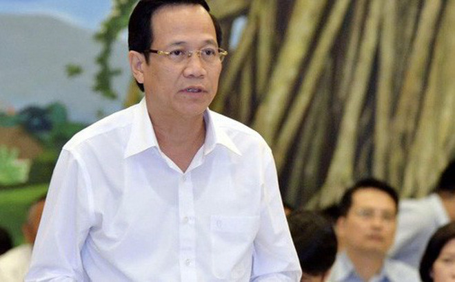 Bộ trưởng Đào Ngọc Dung trả lời chất vấn. (Ảnh: VGP)
