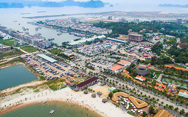 Đảo Tuần Châu được quy hoạch theo nguyên tắc hạn chế tối đa đất ở đô thị, tập trung quy hoạch đất dịch vụ. Ảnh: Website Tập đoàn Tuần Châu.