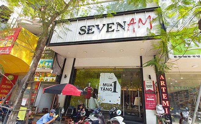 Cửa hàng Seven.AM trên phố Thái Hà. (Ảnh: Ngọc Khánh)