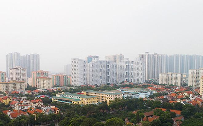 Thị trường bất động sản Hà Nội được cho là đã chuyển mình rõ rệt sau 10 năm. Ảnh: Thuỷ Tiên.