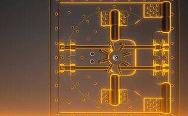 Hình ảnh mô phỏng cấu trúc hầm bí mật giấu vàng. Ảnh: 123RF