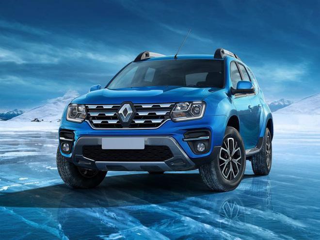 Mẫu ô tô này có màu sắc mới lựa chọn là màu xanh dương. Tại Ấn Độ, Duster tiếp tục cạnh tranh với Hyundai