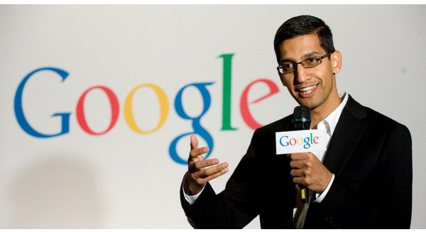 Sundar Pichai, tân CEO Google.