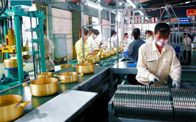 Dây chuyền sản xuất nồi anod được chuyển giao công nghệ từ Sunhouse Hàn Quốc.