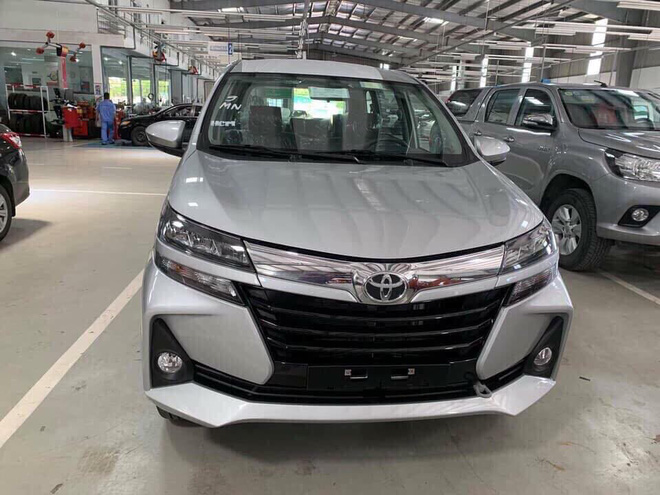 Toyota Avanza 2019 nâng cấp vòng đời xuất hiện tại đại lý.