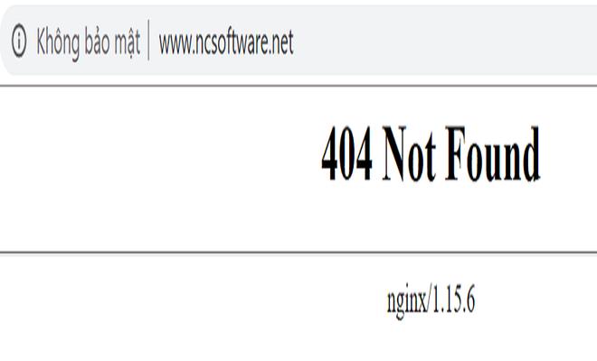 Website NCsoftwave.net đã báo lỗi truy cập.