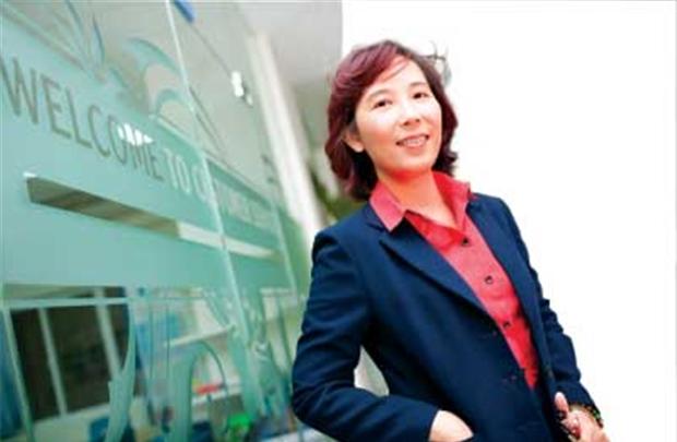 Bà Nguyễn Huỳnh Thu Trúc - Chủ tịch HĐQT Trường Phổ thông Sao Việt (Vstar School):