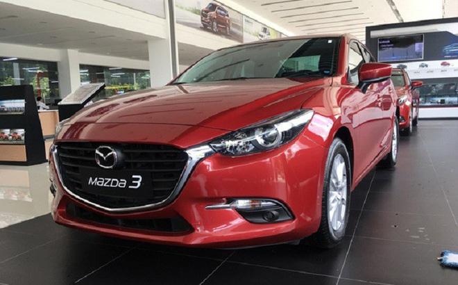 Mazda 3 vượt mốc doanh số 50.000 xe, ưu đãi lên tới 70 triệu đồng trong tháng 7.